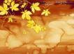 水彩背景及其花纹0093,水彩背景及其花纹,人物,秋季 枝叶 树藤
