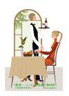 爱上小资生活0019,爱上小资生活,人物,服务员 招待客人