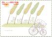 简单生活插画0081,简单生活插画,人物,自行车 单车 树叶