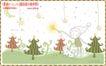 简单生活插画0093,简单生活插画,人物,树 绿化 小女孩