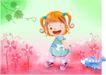 精品儿童与风景0016,精品儿童与风景,人物,儿童与风景