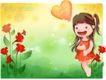 精品儿童与风景0017,精品儿童与风景,人物,风景里的儿童