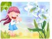 精品儿童与风景0025,精品儿童与风景,人物,俏皮 眨眼 拍手