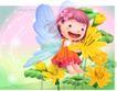 精品儿童与风景0030,精品儿童与风景,人物,翅膀 飞行 透明