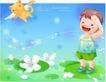 精品儿童与风景0032,精品儿童与风景,人物,