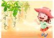 精品儿童与风景0054,精品儿童与风景,人物,小红帽 可爱 小女孩