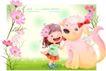 精品儿童与风景0057,精品儿童与风景,人物,狗宝宝 小伙伴 亲密