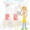 线条风女孩生活0010,线条风女孩生活,人物,厨房 蒸煮 美味