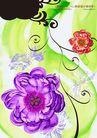 绚彩花纹背景0005,绚彩花纹背景,人物,花藤 曲卷 蔓延