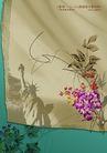绚彩花纹背景0021,绚彩花纹背景,人物,印花 自由 象征