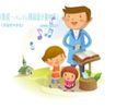 耶稣儿童0010,耶稣儿童,人物,培养 音乐 情操