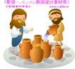 耶稣儿童0021,耶稣儿童,人物,胡子 男人 干活