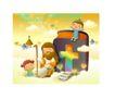 耶稣儿童0023,耶稣儿童,人物,忘年交 情谊 感情