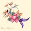 艳丽色花纹0033,艳丽色花纹,人物,