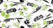 花纹边框0051,花纹边框,人物,花粉 十字星 草叶