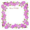 花纹边框0063,花纹边框,人物,紫色 叶子 团束
