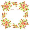 花纹边框0066,花纹边框,人物,小花 绿叶 花环