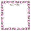 花纹边框0075,花纹边框,人物,简约花式 五彩叶子 夹杂花蕾