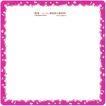 花纹边框0077,花纹边框,人物,淡雅风格 玫瑰红框架 小白碎花