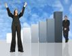 数据指数表0060,数据指数表,金融,举起手手 成功女性 蓝天