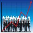 数据指数表0091,数据指数表,金融,人群 身影 红色折线