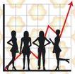数据指数表0094,数据指数表,金融,折线图表 方格 人影