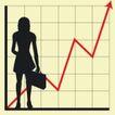 数据指数表0096,数据指数表,金融,提着公文包 上升趋势线 方格