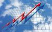 统计图形0090,统计图形,金融,红色箭头 向上指