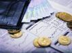 投资理财0097,投资理财,金融,金币 报纸 包包