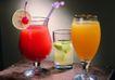 饮品文化0056,饮品文化,饮食水果,开卷 玻璃杯 吸管