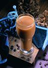 饮品文化0098,饮品文化,饮食水果,吸管 豆子 玻璃杯