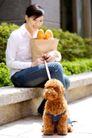 女性宠物0056,女性宠物,生活方式,购物 休闲 遛狗