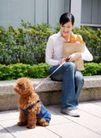 女性宠物0063,女性宠物,生活方式,玩耍 宠物 主人