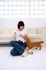 女性宠物0076,女性宠物,生活方式,居家 女性 宠物