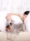 女性宠物0077,女性宠物,生活方式,睡觉 陪伴 主人