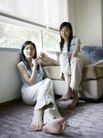 女性居家休闲0017,女性居家休闲,生活方式,闺中 蜜友 窗边