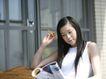 女性居家休闲0043,女性居家休闲,生活方式,窗外 晒太阳 看小说