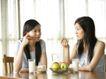 女性居家休闲0056,女性居家休闲,生活方式,水果 早点 朋友