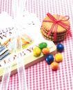 礼物新主题0077,礼物新主题,生活方式,饼干 红绳 结扎