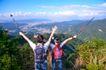 大自然环保0045,大自然环保,植物,大喊 举手 山峰