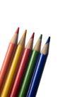 彩笔0299,彩笔,静物,五支笔 写字 描述