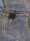 牛仔服特写0137,牛仔服特写,静物,牛仔裤 袋子 钥匙