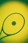 物件光影投射0085,物件光影投射,静物,球拍 一个球