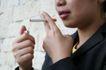 香烟迷绕0118,香烟迷绕,静物,吸烟 烟瘾 女士