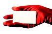 信条卡片0027,信条卡片,静物,手套 名片 宣传片