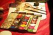 化妆品0032,化妆品,静物,色盒 彩色油墨 调彩