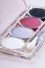 化妆品0052,化妆品,静物,眼影 刷子 腮红