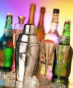 生活物件0056,生活物件,静物,高脚杯 酒瓶 白酒