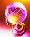 生活物件0059,生活物件,静物,地球仪 模型 水晶
