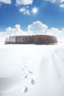 商业0092,商业,实用分层素材,自然 雪地 白云